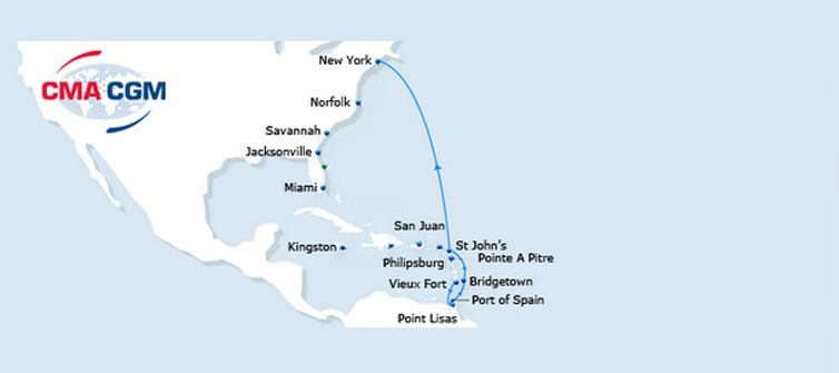 Shipping Route